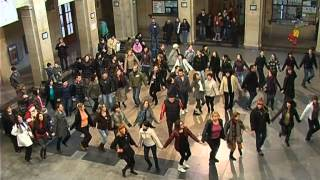 "BNT 2 Flashmob - club ""Nashenci"" in Ruse, Bulgaria"