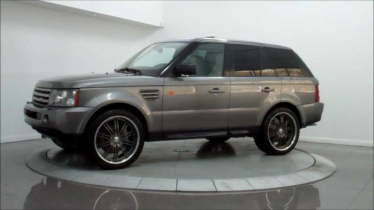 2007 land rover range rover sport supercharged youtube. Black Bedroom Furniture Sets. Home Design Ideas