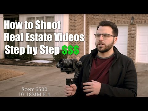 How to shoot a Cinematic Real Estate Video
