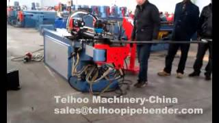 Telhoo#dw63cnc Tube Pipe Bending Machine For Wheelbarrow
