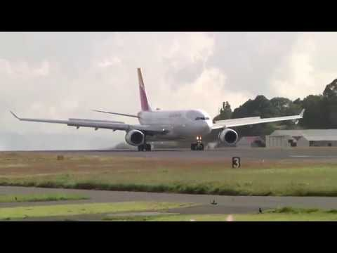 Afternoon landings at La Aurora Intl (GUA) MGGT