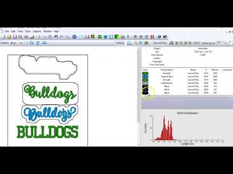 Download More on Making Lettering Tags in Sew What Pro - arabfun Mp3