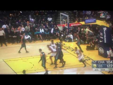 Damian Jones First NBA Basket (2017) GSW