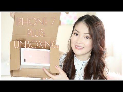 iPhone 7 Plus Unboxing! ĐẬP HỘP IPHONE 7 PLUS [ROSE GOLD] ♡ mattalehang