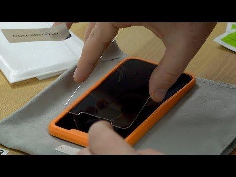 iphone-11-pro-max-panzerglas-+-positionierfilfe-von-omoton-//-anbringen-&-erster-test-//-deutsch