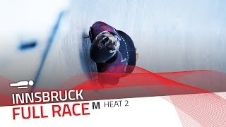 Innsbruck | BMW IBSF World Cup 2018/2019 - Men's Skeleton Heat 2 | IBSF Official