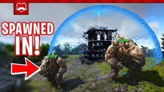 SO... WE RAIDED OUR ADMIN | Ark Four Nations E4