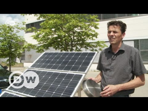 Solar-powered canisters to keep milk cool | DW English