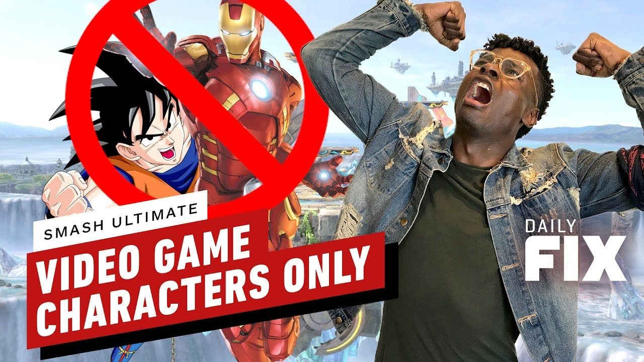 Goku and Iron Man Will Not Fight in Super Smash Bros. Ultimate - IGN Daily Fix - IGN thumbnail
