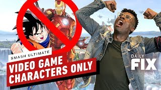Goku and Iron Man Will Not Fight in Super Smash Bros. Ultimate - IGN Daily Fix