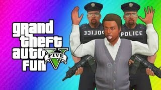GTA 5 Online - Robbing Spree! (GTA 5 Funny Moments, Skits, & Challenge) thumbnail