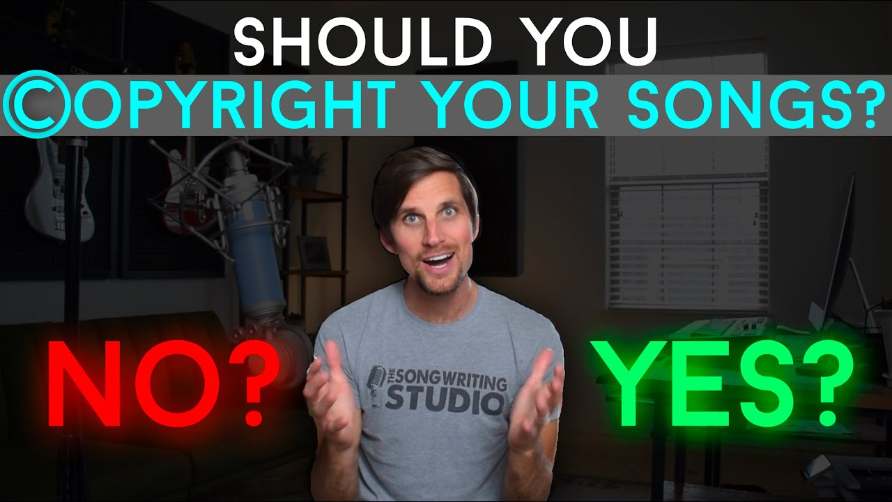 Should You Copyright Your Music? // A Small Studio Owner's Perspective