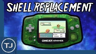 GameBoy Advance Shell Replacement Mod! [Simple Guide] 2017!