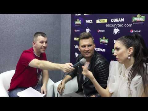 Eurovision 2017 - Koit Toome & Laura (Estonia) interview