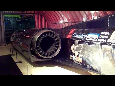 THRUST SSC - WORLDS FASTEST CAR