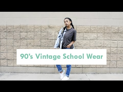 Quick 90's Vintage School Wear