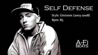 Self Defense - Hard Eminem Style Beat