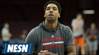 Philadelphia 76ers sit okafor following trade talks