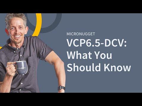 VMware vSphere 6.5 (VCP6.5-DCV)