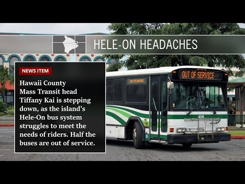 Hawaii County Mass Transit Shake-Up (Apr. 25, 2017)