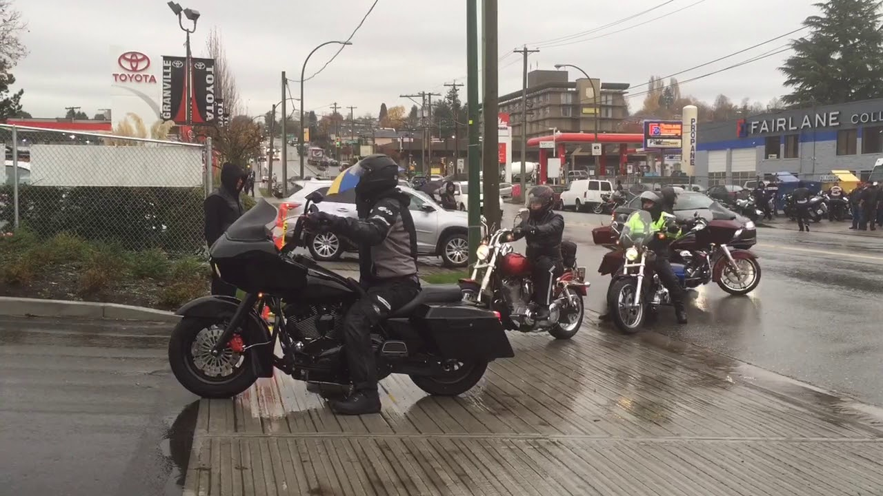 Hells Angels funeral for Bob Green