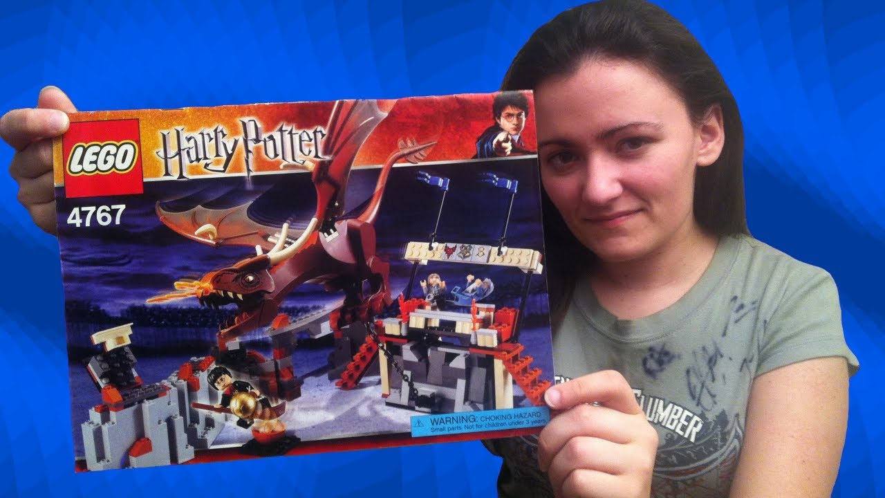 LEGO Harry Potter 4767 Harry Potter and the Hungarian Horntail LEGO Review  - BrickQueen