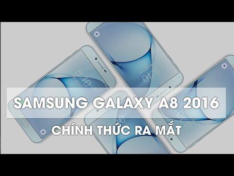 Samsung Galaxy A8 (2016), 3GB RAM, Exynos 7420 chính thức ra mắt