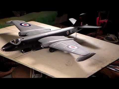 Airfix 1/48 Canberra  FINAL REVEAL  Video 5
