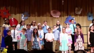 3rd Graders at Woodmere Spring Concert