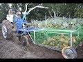 Поделки - Уборка картофеля 2017. Часть 4. Изготовление корзины к картофелекопалке своими руками.