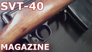 How To Disassemble SVT-40 Magazine First Person View Russian SVT40 Tokerov