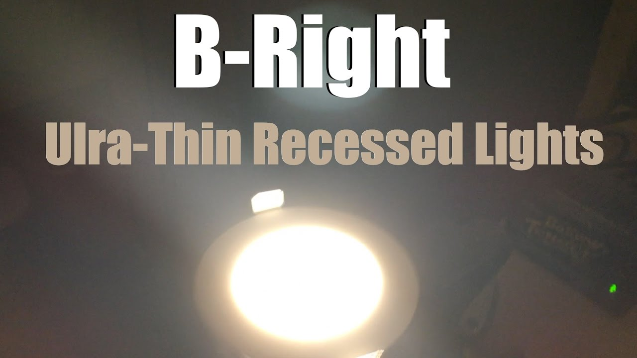 Snow day project b right ultra thin led recessed lights youtube snow day project b right ultra thin led recessed lights mozeypictures Gallery