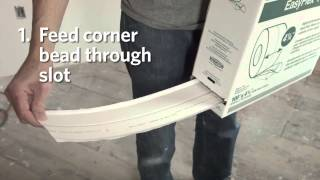 EasyFlex Pro Flexible Corner Bead from CertainTeed Gypsum