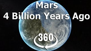 Mars had an ocean 4 billion years ago 360 VR 4K video