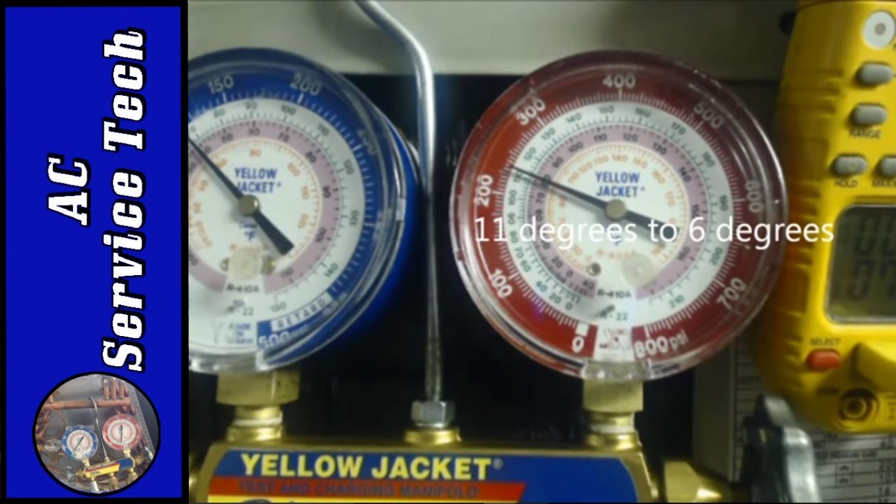 How To Use A Refrigerant Gauge Set Step By Step To Read Subcooling For R-410a