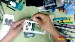 Samsung Galaxy Grand I9082 -Broken Touch ,LCD Replacement and Disassembly-escbaig
