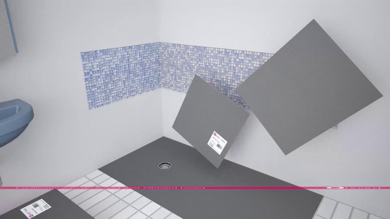 Qboard liquid van badkuip naar douche youtube