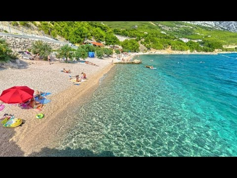 Plaže Omiš Hrvatska 2017