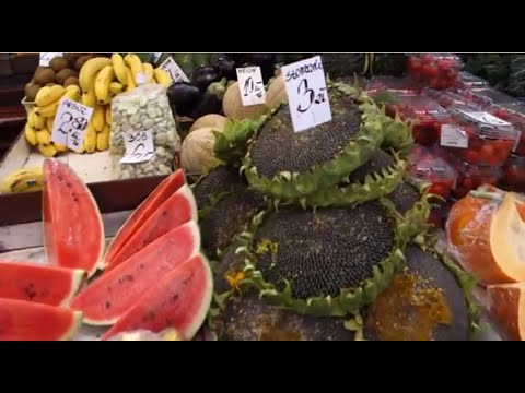 Exploring a Polish Farmers' Market in Kraków