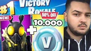 1V1 WITH IRAPHAHELL IN FORTNITE ON 10,000 VBUCKS + NEW SKIN!