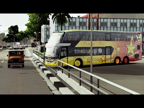 ETS2 : Riview + Test Drive Jetbus2+ Super Double Decker in M