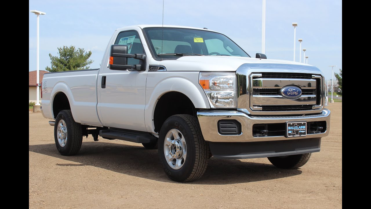 2016 Ford F 250 Super Duty Xlt Regular Cab 6 2l V8 At Eau Claire