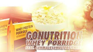 GoNutrition Whey Porridge im Test by #TEAMROCKY feat. SchmaleSchulterFitness - rocky-sportnahrung.de