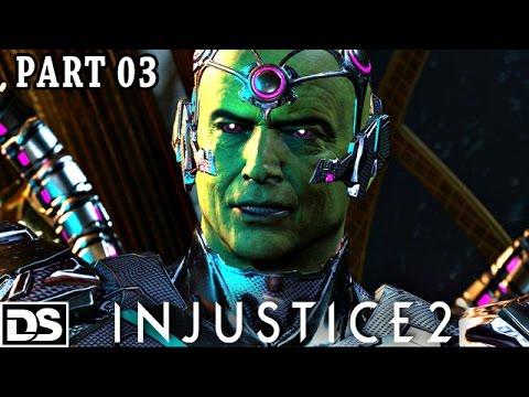 Injustice 2 Gameplay German Brainiac, Green Arrow, Black Canary - Let's Play Injustice 2 Deutsch #3