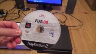 What Happens When you play a PS2 game disc on the PS4 Slim Console