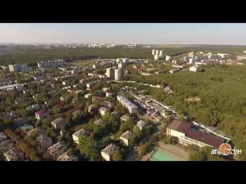 Ставрополь с высоты 200 метров - Ботаника Осетинка 42 школа