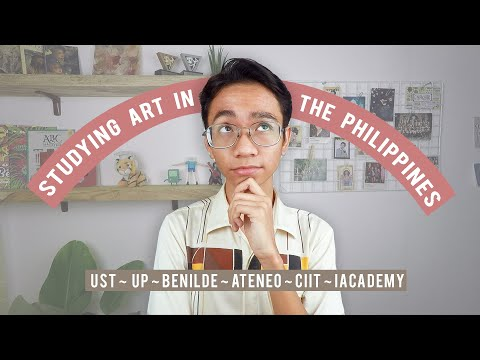 College Art Programs in Manila - Art Student Guide | KahlilAlcala