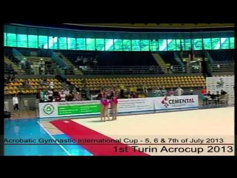 1st Turin Acrocup - Acrobatic Gymnastic International Cup - Day 2 - part 8
