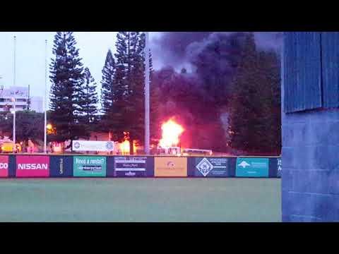 Crews battle fire near UH-Manoa campus