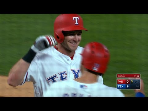 Hoying cranks his first Major League homer